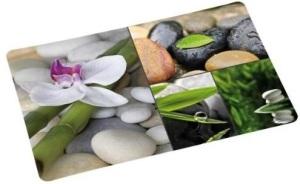set-de-table-protection-ambiance-zen-fleurs-galets-eau